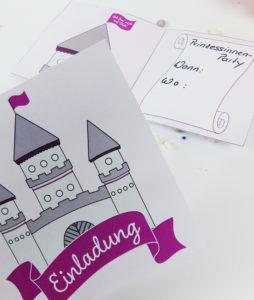 Märchenschloss Einladung