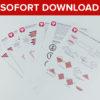Piratenschiff Einladung als Sofort-Download