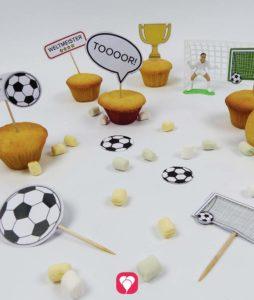 Fußball Deko Picker für den Fußball Geburtstag