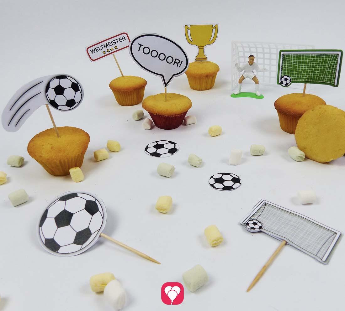 Fußball Deko Picker