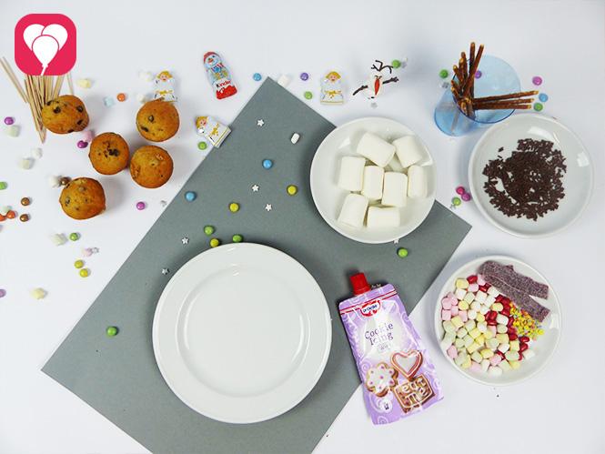 Olaf Muffins - Zutaten