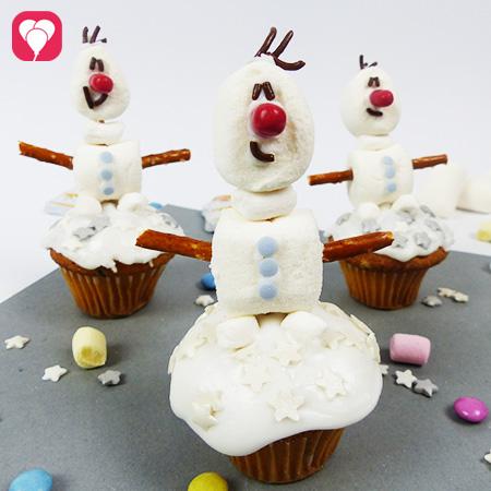 Olaf Muffins zum Kinostart von Frozen