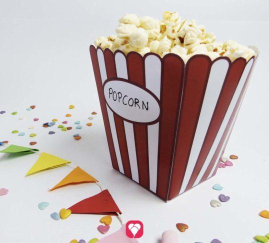 Popcorn Tüte zum Herunterladen