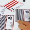 Piraten Tischkarten - Schritt 2