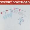 Flieger Geschenkbox als Sofort-Download