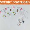 Pferde Geschenkbox als Sofort-Download
