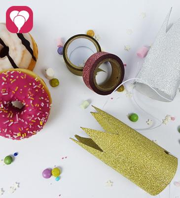 DIY Krone basteln - Prinzessinnen Spiel