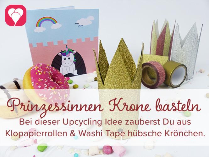 DIY Prinzessinnen Krone