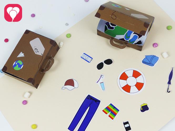 Ein lustiges Spiel fuer die ganze Familie - ich packe meinen Koffer mit Dir