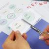 Lieblings-Sticker als Etiketten - Schritt 2