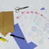 Lieblings-Sticker zum Beschriften - Zusatzmaterial