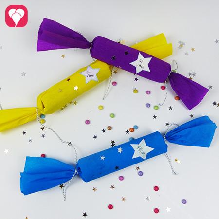 Knallbonbons Basteln Inklusive Lustigem Partyspiel Balloonas
