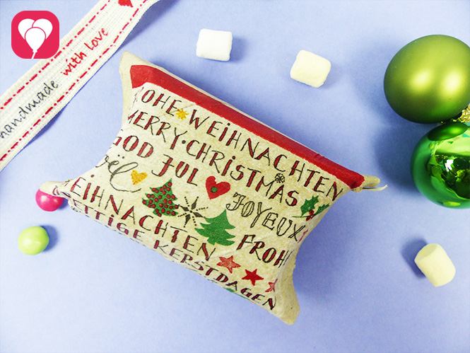 Upcycling Idee für Weihnachtsgeschenke