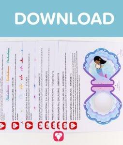 Meerjungfrau Einladung - Download