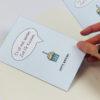 """""""Zeit für Kuchen"""" Design Klappkarte als Einladungskarte"""