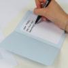 """""""Zeit für Kuchen"""" Design Klappkarte als Glückwunschkarte"""