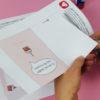 """""""Zeit für Kuchen"""" Design Klappkarte - Schritt 1"""
