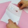 """""""Zeit für Kuchen"""" Design Klappkarte - Schritt 3"""
