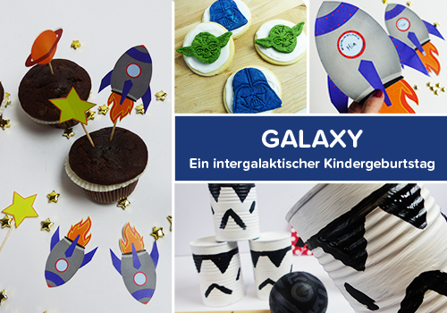 Galaxy Party für Astronauten & Star Wars Fans