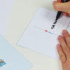 """""""Zeit für Kuchen"""" Design Postkarte als Einladungskarte"""