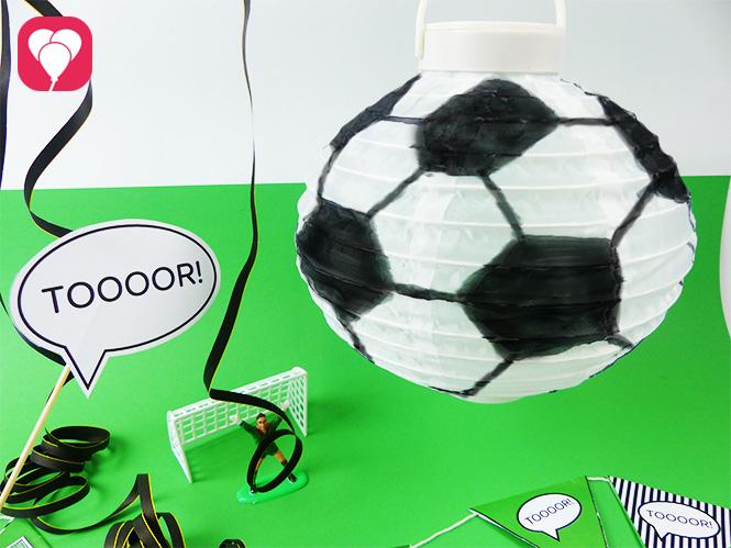 Fussball Deko für Deinen Kindergeburtstag