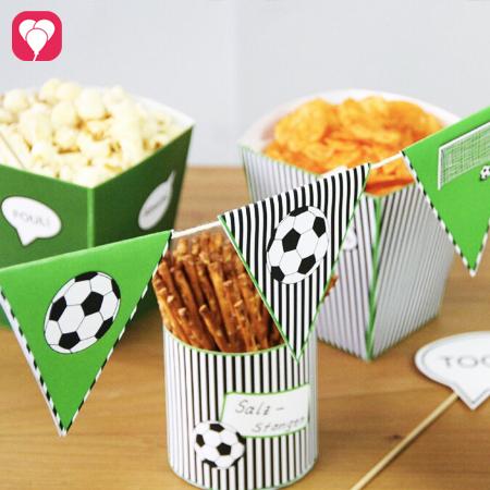 Fussball Snacks für die WM