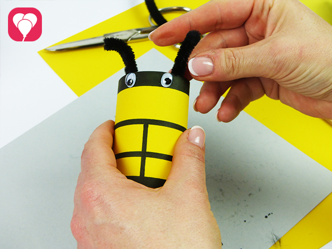 Tic Tac Toe Frühlings-Edition - Bienen Spielfigur