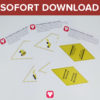 Bauarbeiter Wimpelkette als Sofort-Download
