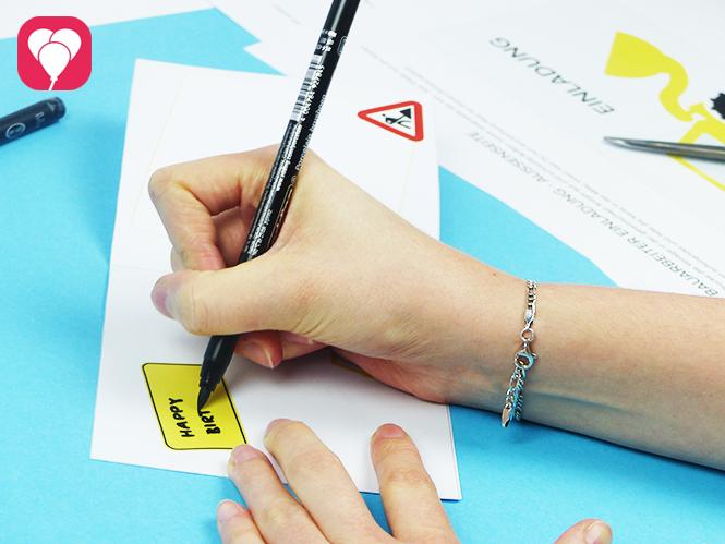Bauarbeiter Einladungskarte - Einladungstext schreiben