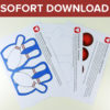 Bowling Karte als Sofort-Downlaod