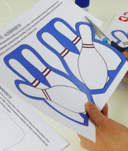 Bowling Karte - Schritt 1