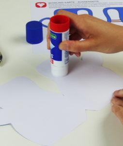 Bowling Karte - Schritt 2