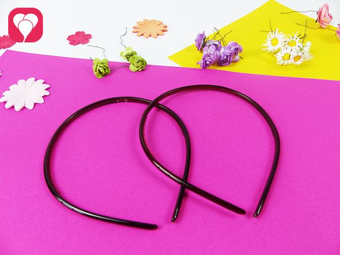 Material für Blumenkranz binden - Haarreifen und Kunst Blumen