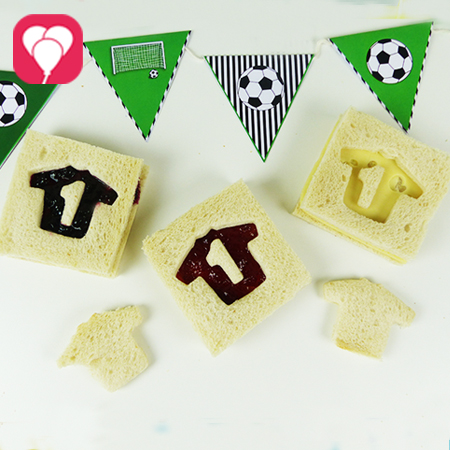 WM Toasts - Leckere Fussball Snacks in Schwarz Rot Gold