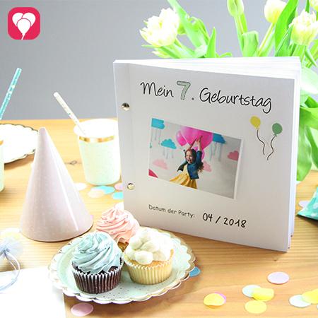 balloonas Geburtstagsbuch - halte Deine Geburtstagsmomente fest
