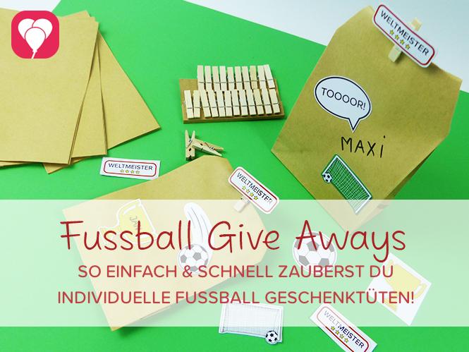 Fussball Give Aways