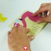 Flamingo Klappkarte - Schritt 3
