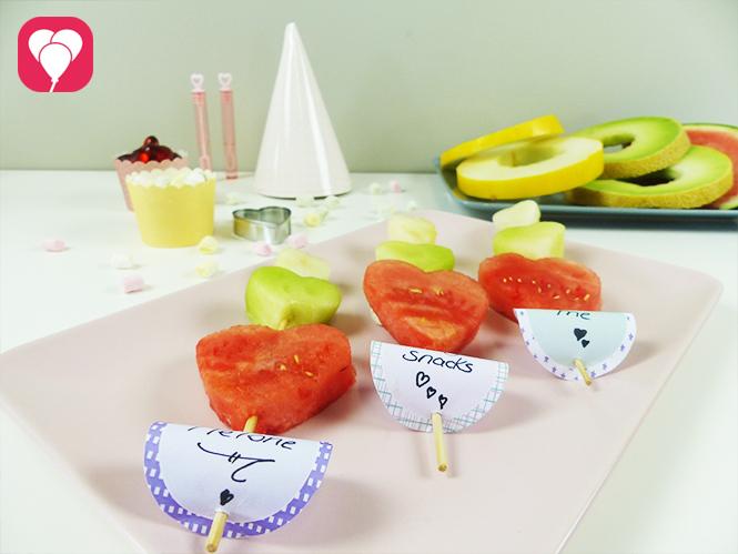 Lecker fruchtige Sommer Snacks aus Melone