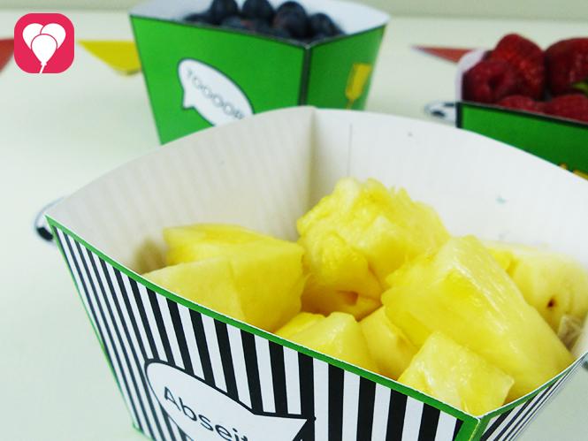 Lecker und gesund - WM Snacks aus Obst