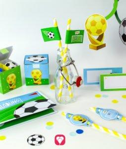 Fussball Geburtstagspaket Basic - balloonas