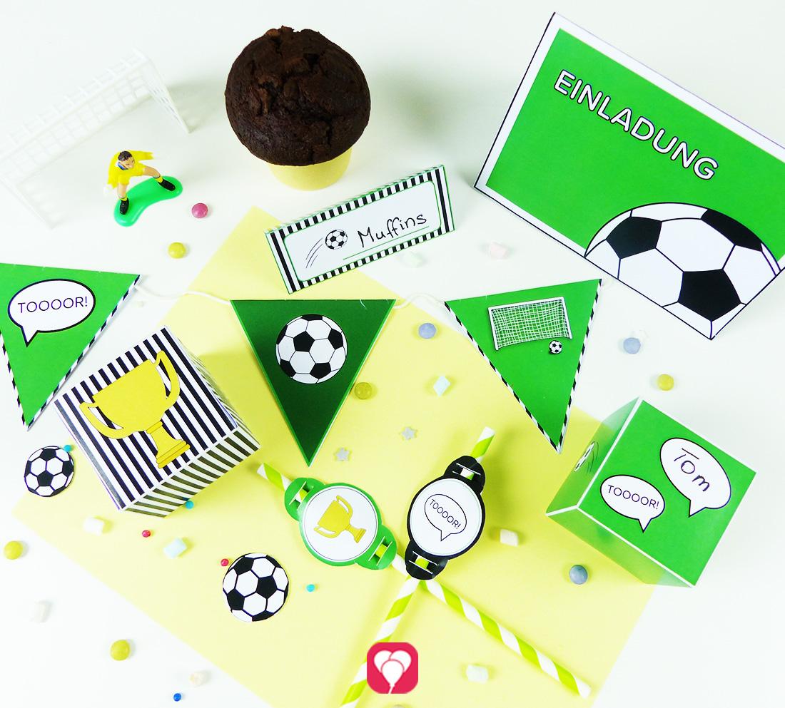 Fußball Geburtstagspaket - Basic