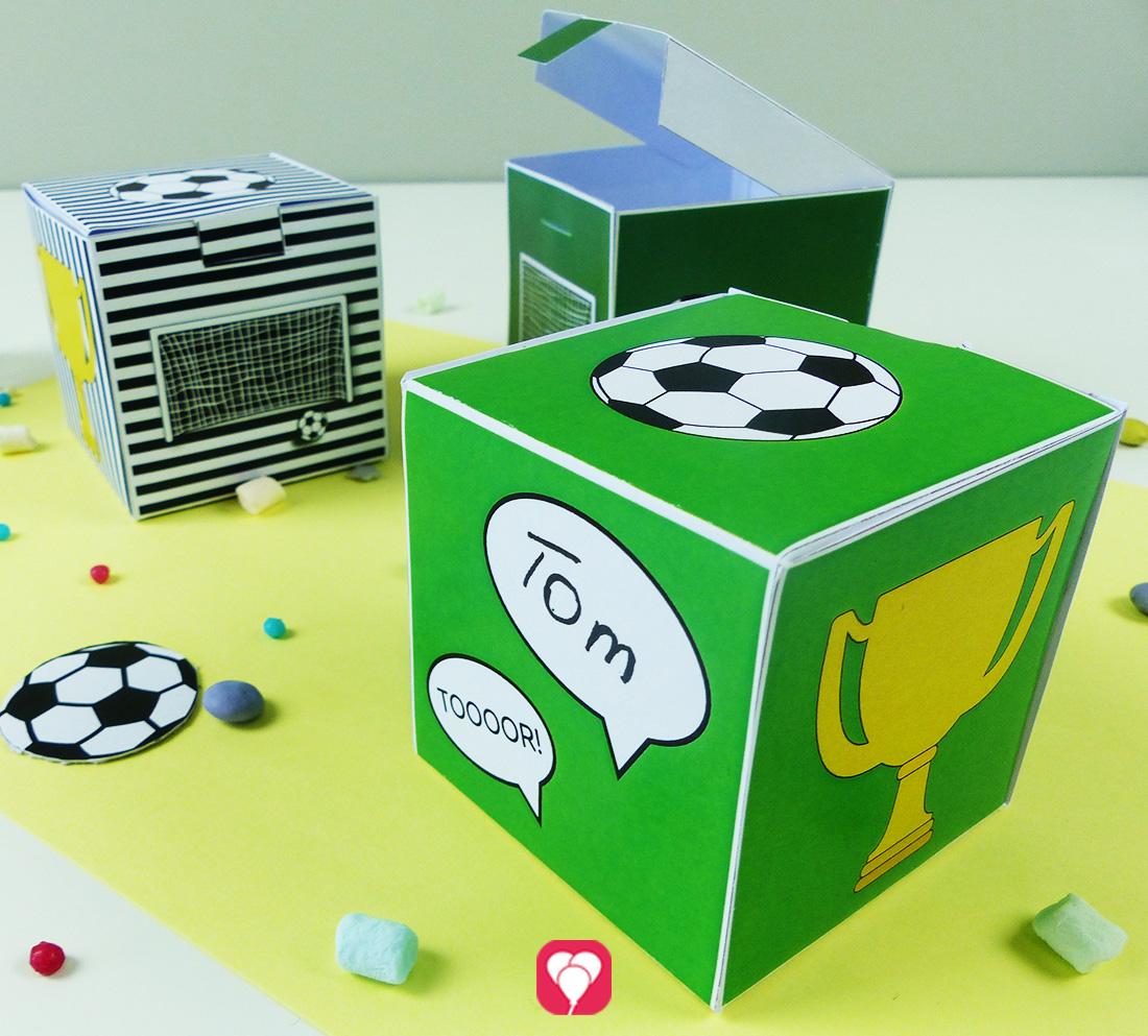 Fußball Geschenkbox