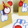 Bowling Geschenktüten mit Druckvorlage selbst gestalten