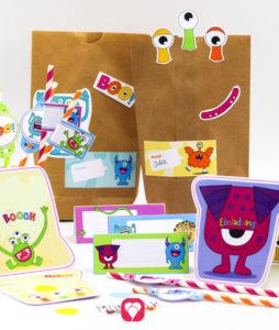 Monster Geburtstagspaket Basic - balloonas