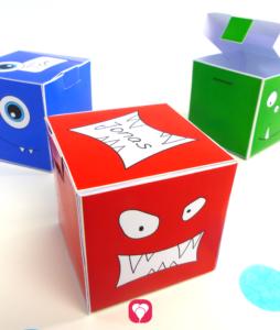 Monster Geschenkbox