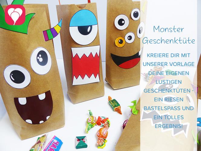 Monster Geschenktüten