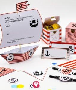 Piraten Geburtstagspaket - balloonas