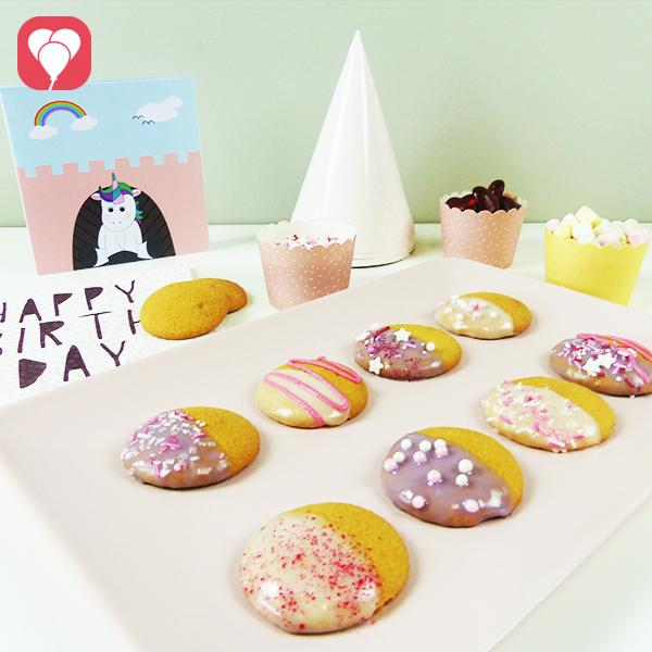Prinzessinnen Kekse verzieren - einfach und schnell