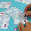 Flieger Tischkarten - Schritt 2