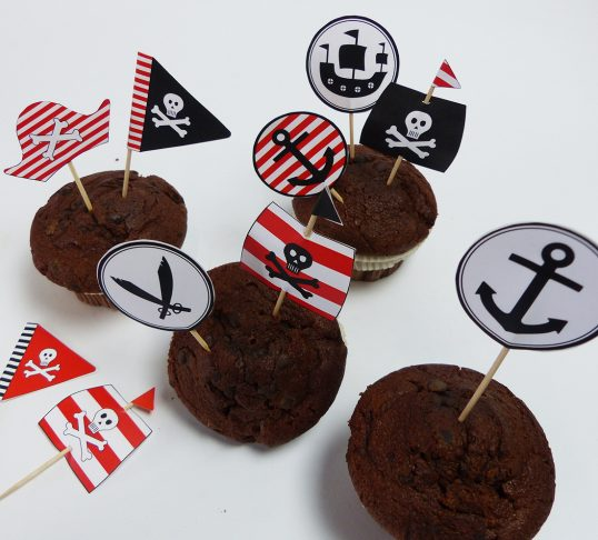 Pirate party picks - balloonas